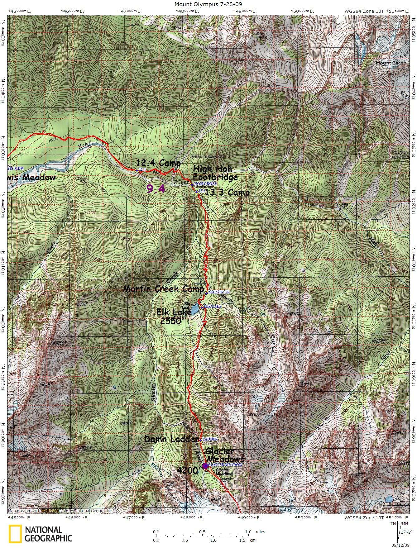 Maps And GPS Tracks NW Adventures Maps GPS Tracks - Olympus map