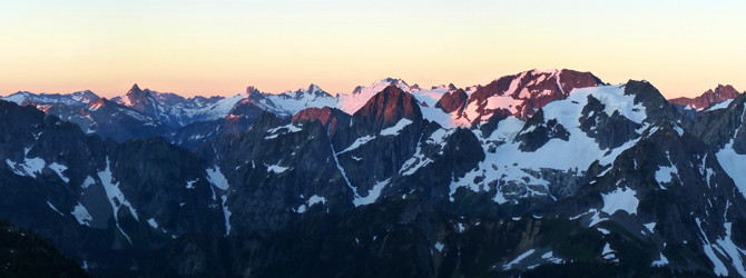 Buckner Mountain, SW Slope (North Cascades)