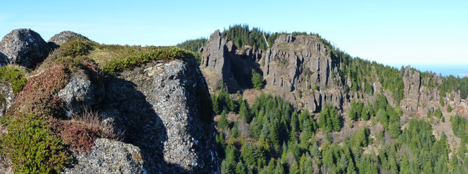 Angora Peak, Angora Pinnacle & Revenge of Angora Pinnacle 2-12-12