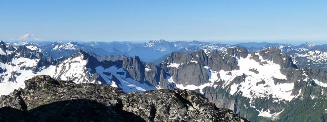 Sloan Peak – Corkscrew Route
