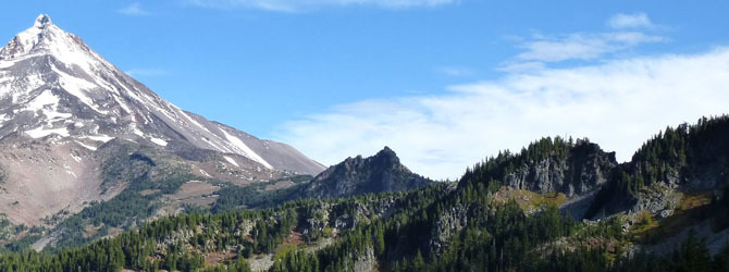 Cathedral Rocks, Mount Jefferson Wilderness