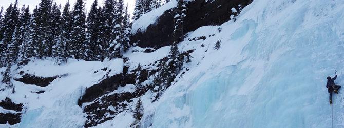 Hyalite Ice Climbing 12-28-15