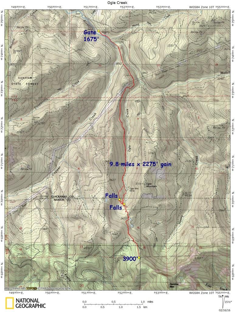 Ogle Creek 2-13-16