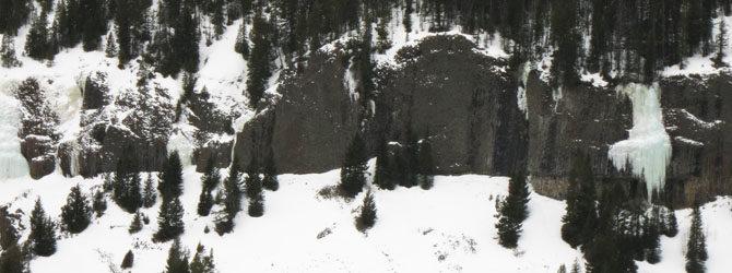 Hyalite Ice Climbing 3-6-17