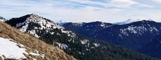 Cone Peak – Iron Mtn 12-31-17